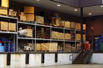 warehouse storage shelves